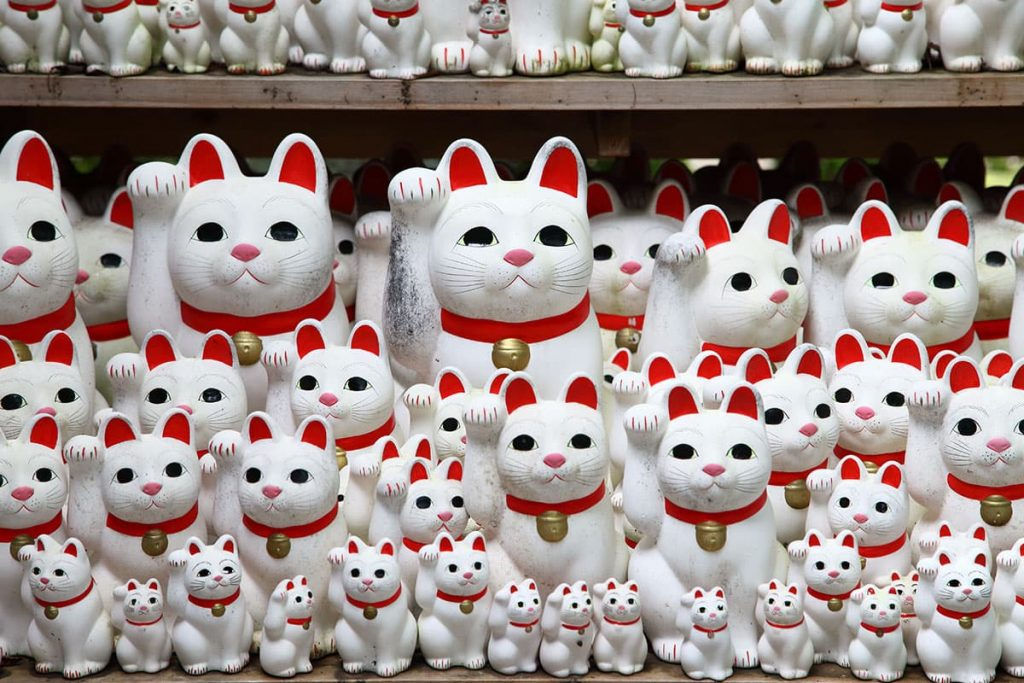 Manikineko - O Gato da Sorte Japonês   Kuri Kuri